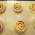 Flatten rolls slightly