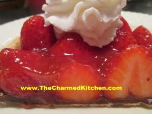 Amy's Strawberry Chocolate Tart