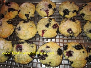 Blueberry Cinnamon Scones