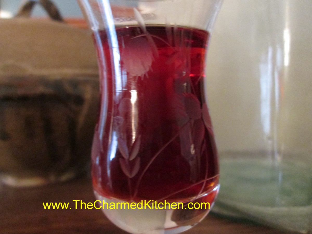 Homemade Raspberry Liqueur | The Charmed Kitchen