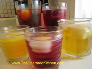 Homemade Fruit Sodas