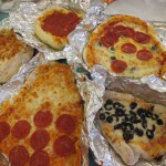 Some of the pizzas they made