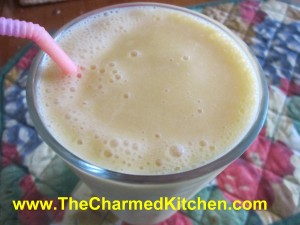 Peach and Almond Smoothie