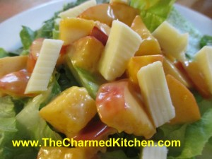 Peachy Chef Salad