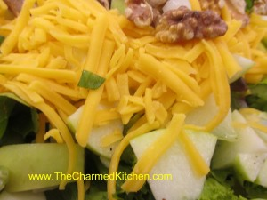 Apple and Cheese Salad