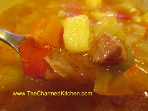 Aunt Josie's Cabbage Soup