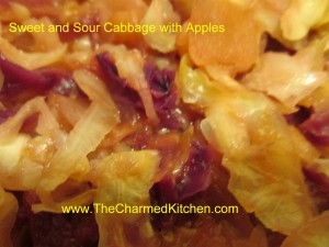 sweet and sour cabbage