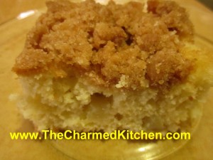 Pear and Apple Crumb Cake