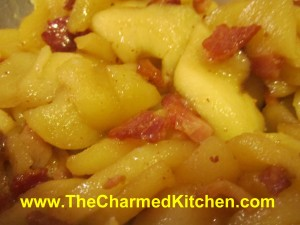 Apple and Bacon Saute