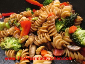 Pasta and Veggie Saute
