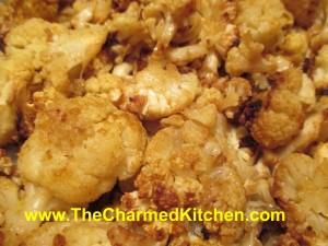 Curry Roasted Cauliflower