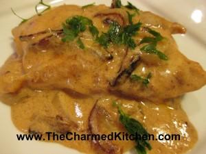 Chicken in Sherry Cream Sauce
