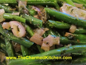 Green Beans in Herb Butter Sauce