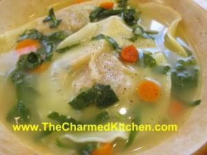 Squash Ravioli Soup