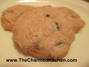 Kat's Cherry Chocolate Chip Shortbread