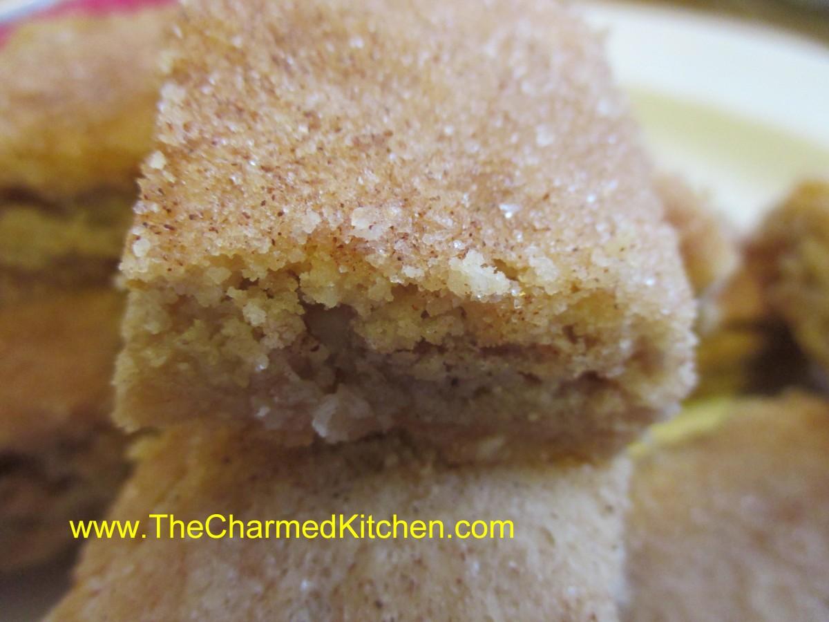 Pecan Cinnamon Shortbread Cookies | The Charmed Kitchen
