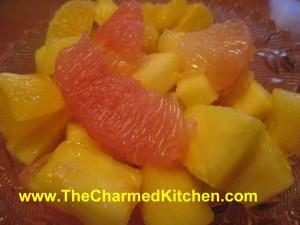 Sunshine Fruit Salad with Ginger-Lime Dressing