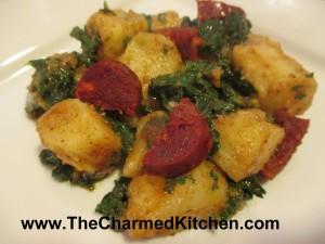 Potato and Kale Salad
