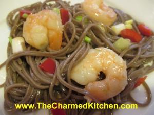 Warm Shrimp and Soba Noodle Salad