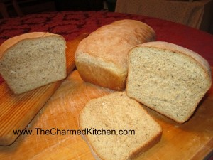 Whole Wheat Swiss Cheese Bread