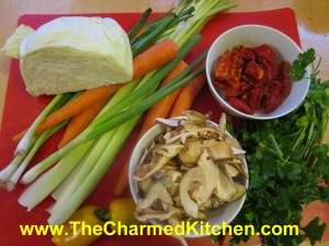 Vegetable Soup Base Ingredients