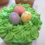 The nest cupcake