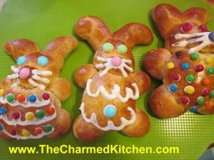 Cinnamon Bunny Breads