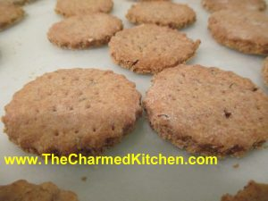 Homemade Rye Crackers