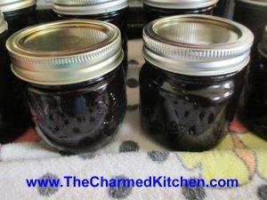 Blueberry Cinnamon Vanilla Jam