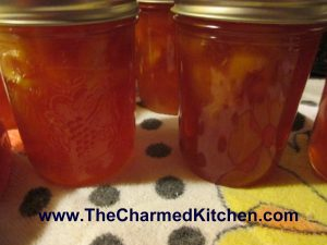 Cinnamon Vanilla Peach Preserves