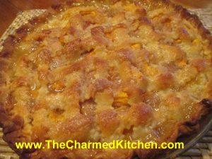 Cinnamon Vanilla Peach Pie