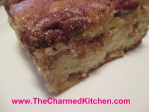 Pear and Pecan Cinnamon Cake | The Charmed Kitchen