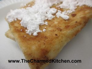 Pineapple Blintzes