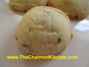Mint Butter Cookies