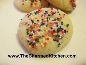 Soft Butter Cookies