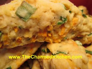 Sweet Potato and Herb Biscuits