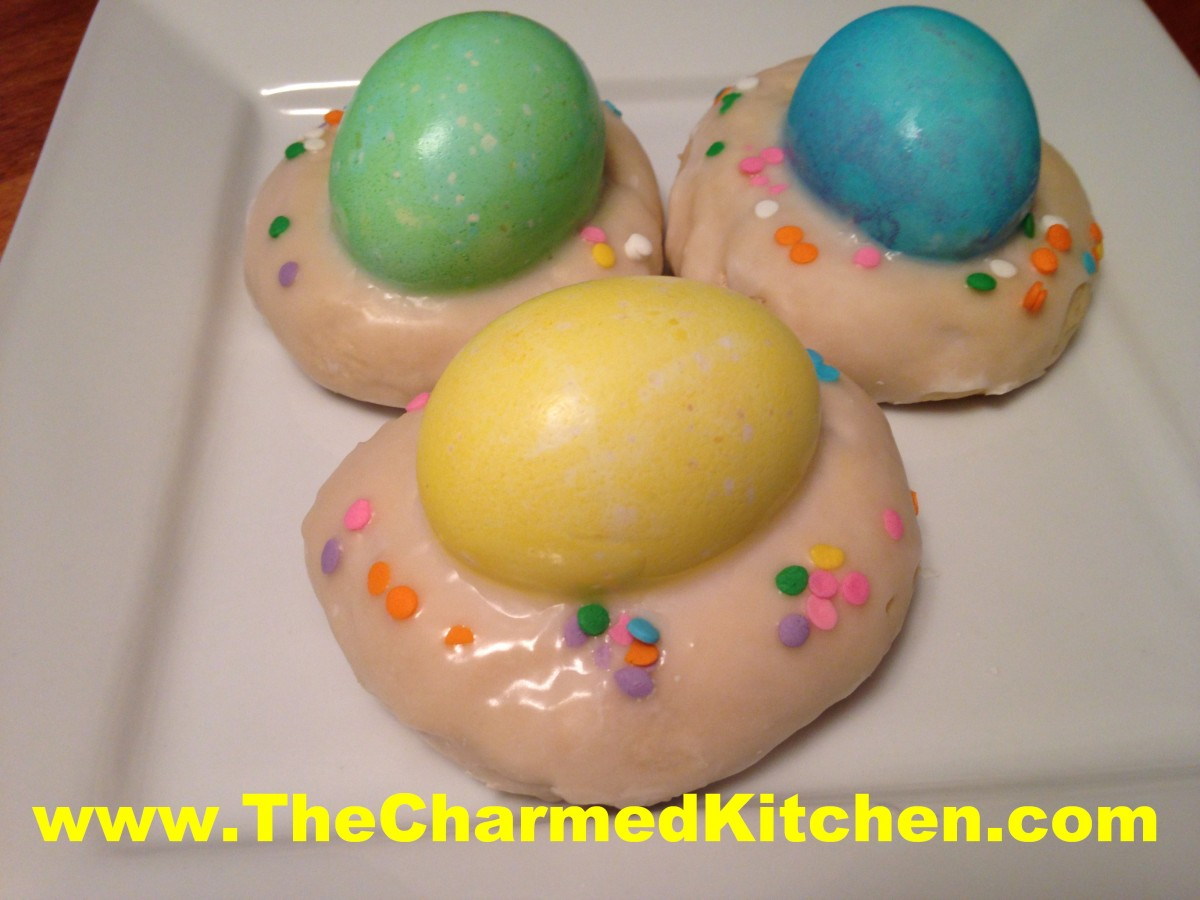 Easter egg biscotti recipe the charmed kitchen forumfinder Image collections